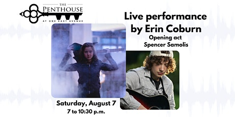 The Penthouse Presents: Erin Coburn and Spencer Samolis Live! tickets