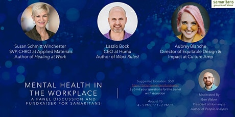 Mental Health in the Workplace - Panel Discussion tickets