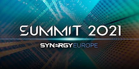 Synergy 2021 European  Virtual Summit billets