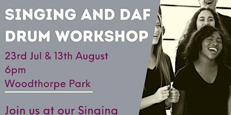 Singing and Daf Drum Workshop tickets