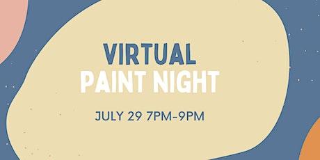 Virtual Paint Night tickets