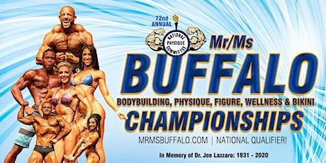 2021 Mr/Ms Buffalo Bodybuilding Championships - Night Show 6PM tickets