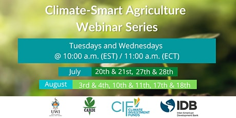 Climate Smart Webinar tickets