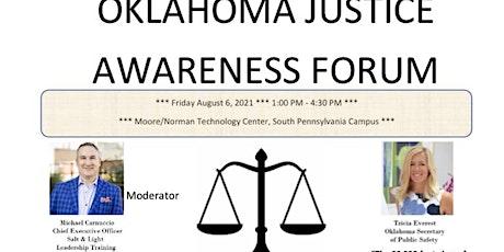 Oklahoma Justice Awareness Forum tickets