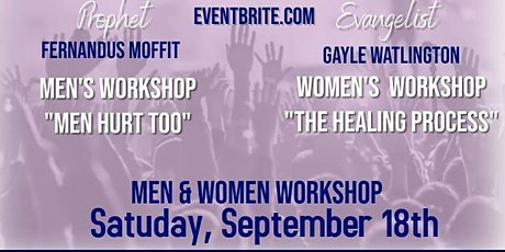 Wounded but HEALED Workshop tickets