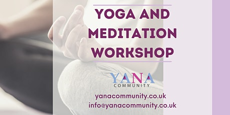 Yoga and Meditation Sessions tickets