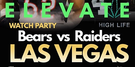 Elevated Watch Party: Bears vs Raiders IN LAS VEGAS tickets