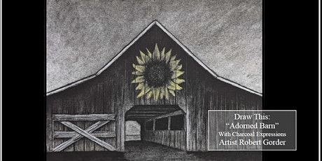 """Charcoal Drawing Event  """"Adorned Barn"""" in Stevens Point tickets"""