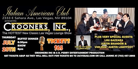 Crooners, Inc. The HOTTEST Classic Las Vegas Show in Town! tickets