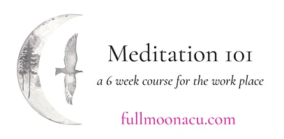 Meditation 101 – A Six Week Course for the Workplace