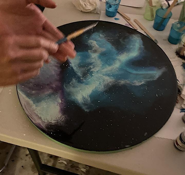 Art Resin Class - Universe Theme image