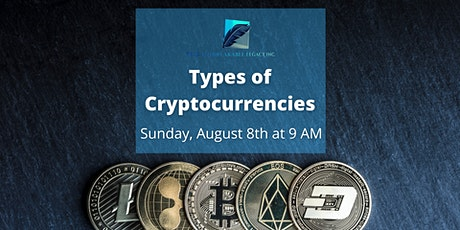 Types of Cryptocurrencies tickets