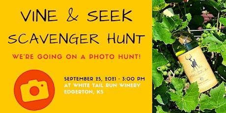 Vine & Seek Scavenger Hunt tickets