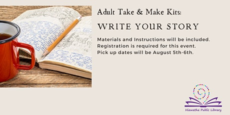 Adult Take & Make: Write Your Story tickets
