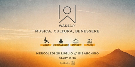 WAKE UP! Enjoy the sunset energy! // Vinyasa yoga with Baianamultipass biglietti
