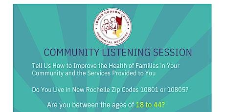 Community Listening Session tickets