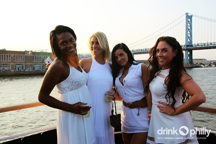 Drink Philly's White Attire Boat Party, Aug 26 image