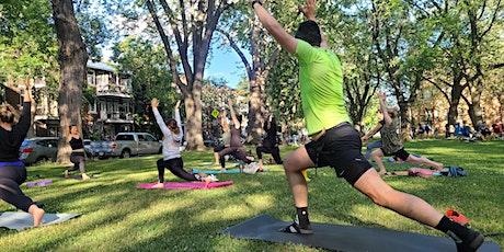 Yoga au Parc Baldwin - tous niveaux tickets