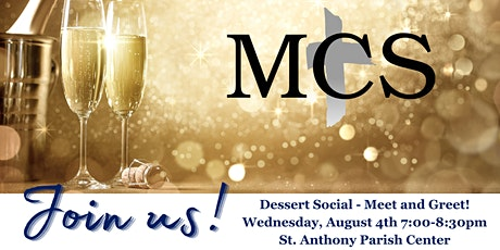 MCS Dessert Social, Welcoming Mr. Hayes! tickets