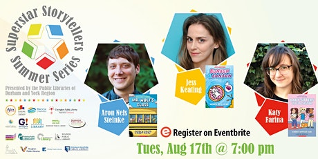 Superstar Summer Storyteller Series: Meet the Graphix Panel! tickets