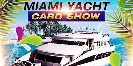 Yacht Card Show - Miami tickets