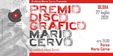Premio discografico Mario Cervo 2021 biglietti