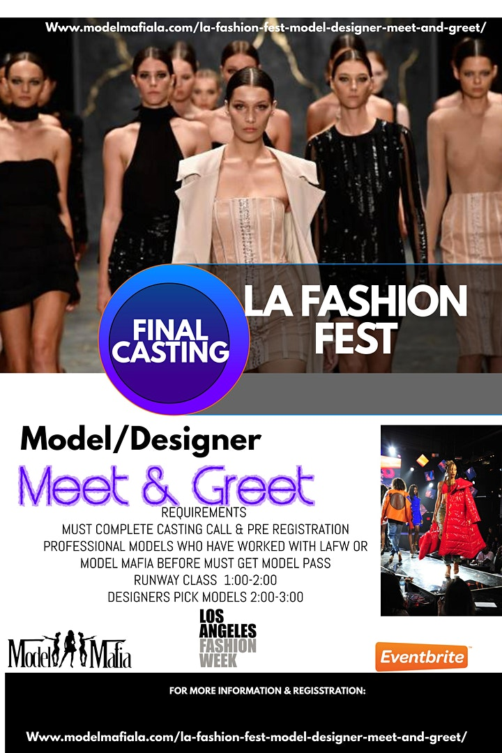 La Fashion Fest casting brunch / followed by best day ever after party image