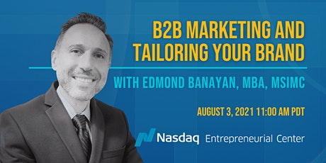 B2B Marketing and Tailoring Your Brand tickets