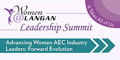 Women@Langan Leadership Summit  | Advancing AEC Industry Leaders tickets