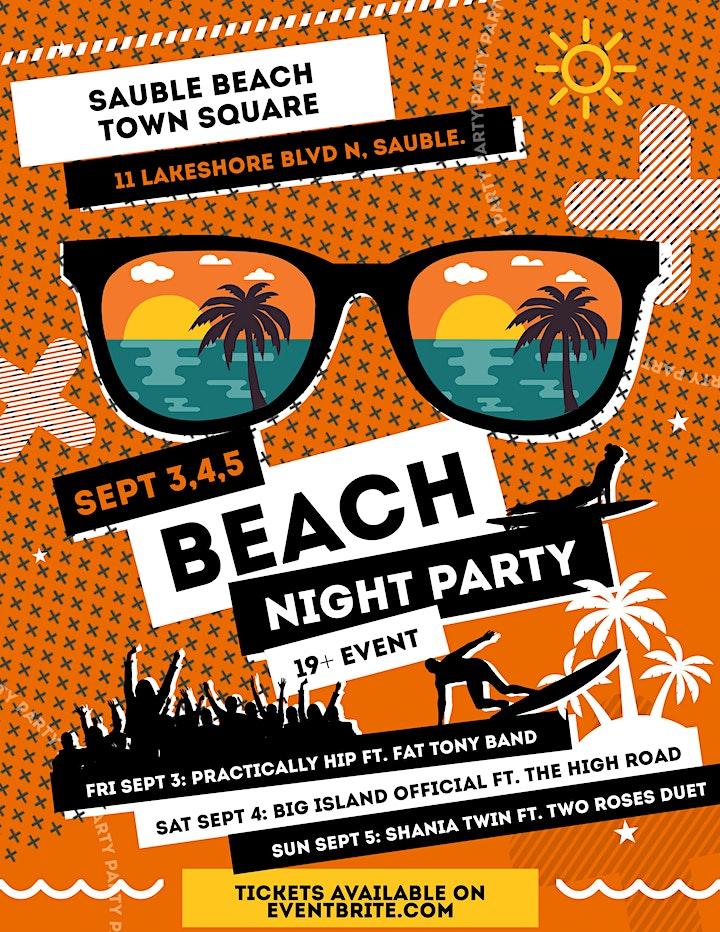 Beach Night Party image