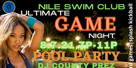 The Nile Swim Club Presents: The Ultimate Game Night tickets