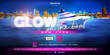 *SOLD OUT* GLOW on the Boat Party New York City Yacht Cruise tickets