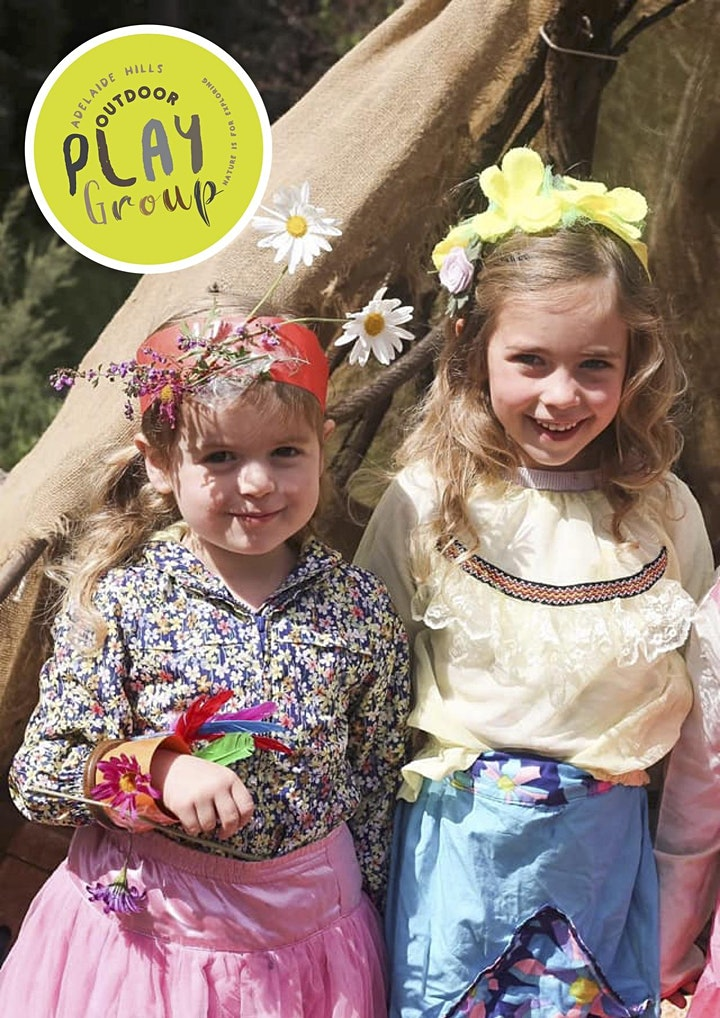 Spring  with Adelaide Hills Outdoor Playgroup - Tuesday 28th September image