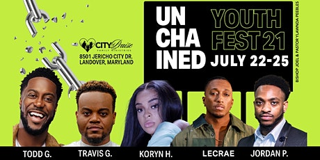 YOUTH FEST 2021( UNCHAINED) tickets