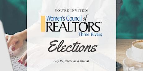 Women's Council of REALTORS Virtual Elections tickets