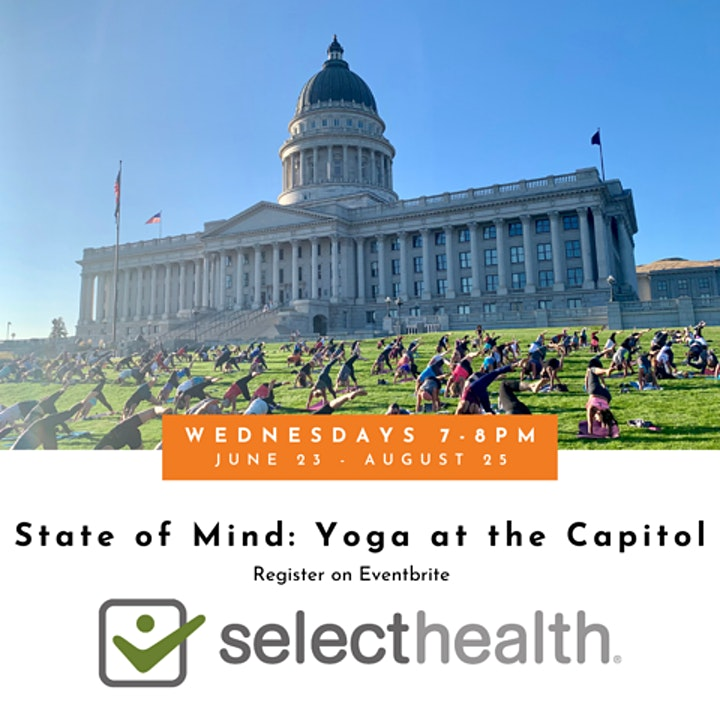 STATE OF MIND: YOGA AT THE CAPITOL PRESENTED BY SELECTHEALTH image