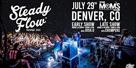 Steady Flow w/ Josh.O + Dreamspace Database (Early Show) tickets