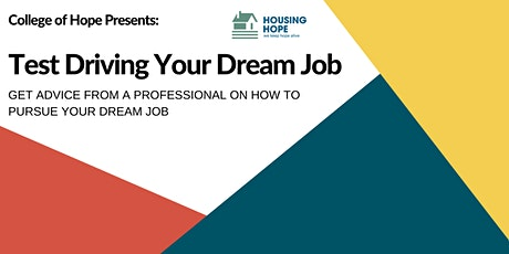 Test Driving Your Dream Job tickets