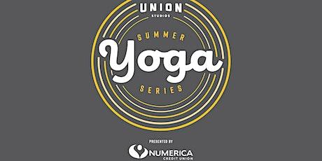Summer Night Yoga Series tickets