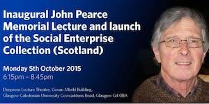 Inaugural John Pearce Memorial Lecture