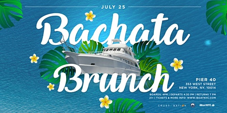 Bachata Music Latin Brunch Party on Infinity Yacht Cruise NYC tickets