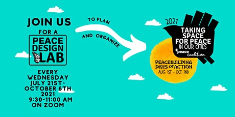 Peace Design Lab for Peacebuilding Days of Action 2021 tickets
