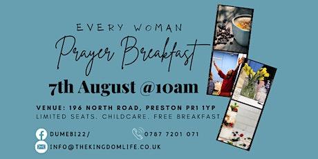 Every Woman Prayer Breakfast tickets