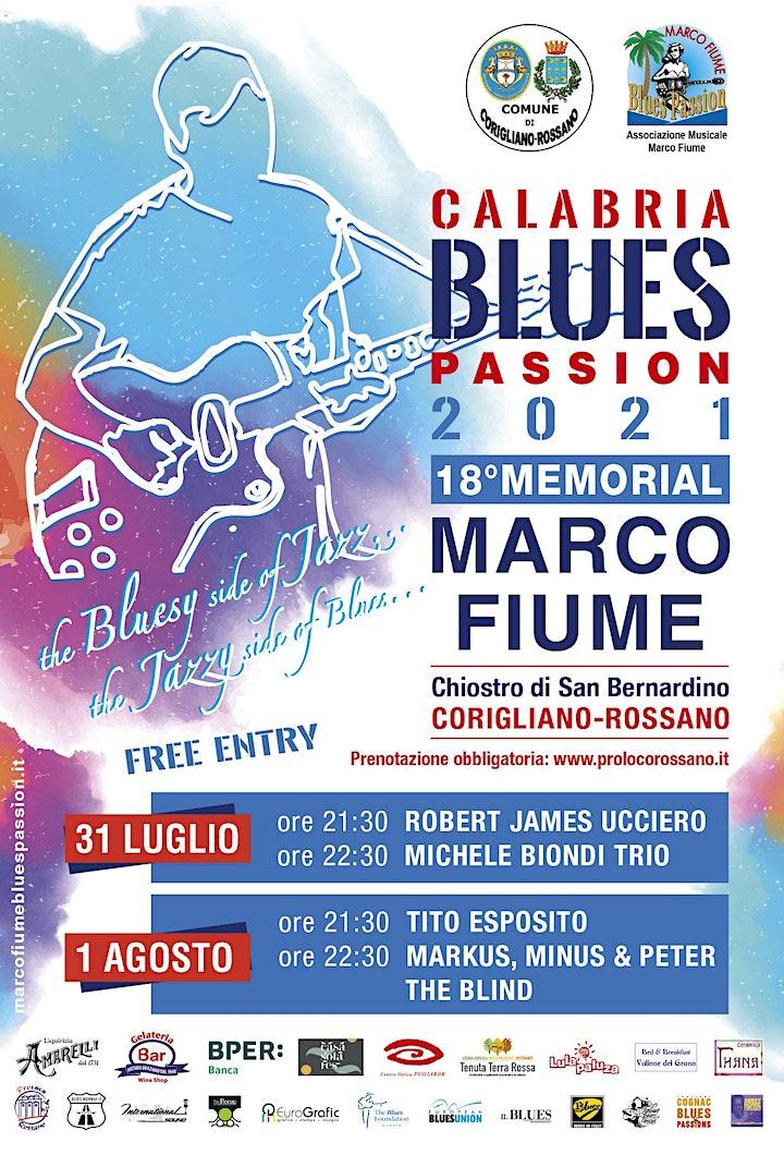Immagine MARCO FIUME BLUES PASSION 18^ EDIZIONE