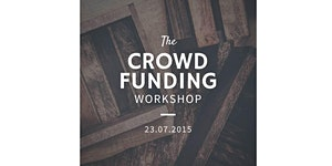 the crowdfunding workshop