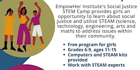 EmpowHer Social Justice STEAM Camp tickets