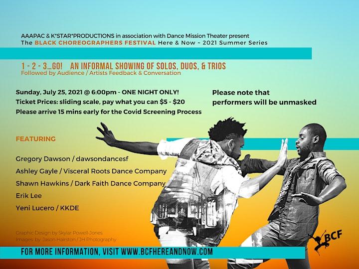 Black Choreographers Festival: Here & Now 2021 Summer Series image
