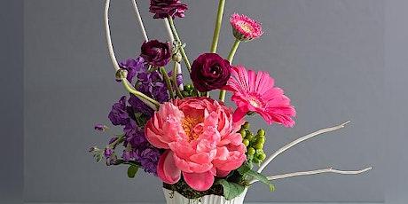 Floral Arrangement Class tickets