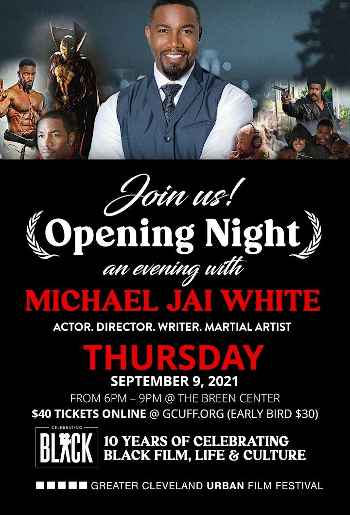 GCUFF Opening Night Event with Michael Jai White image