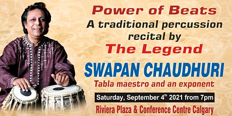 Power of Beats: Presenting The Legend Swapan Chaudhuri tickets